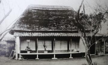 昭和初期の頃の旧宅(茅葺き)